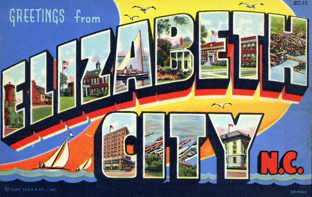 Elizabeth City Post Card