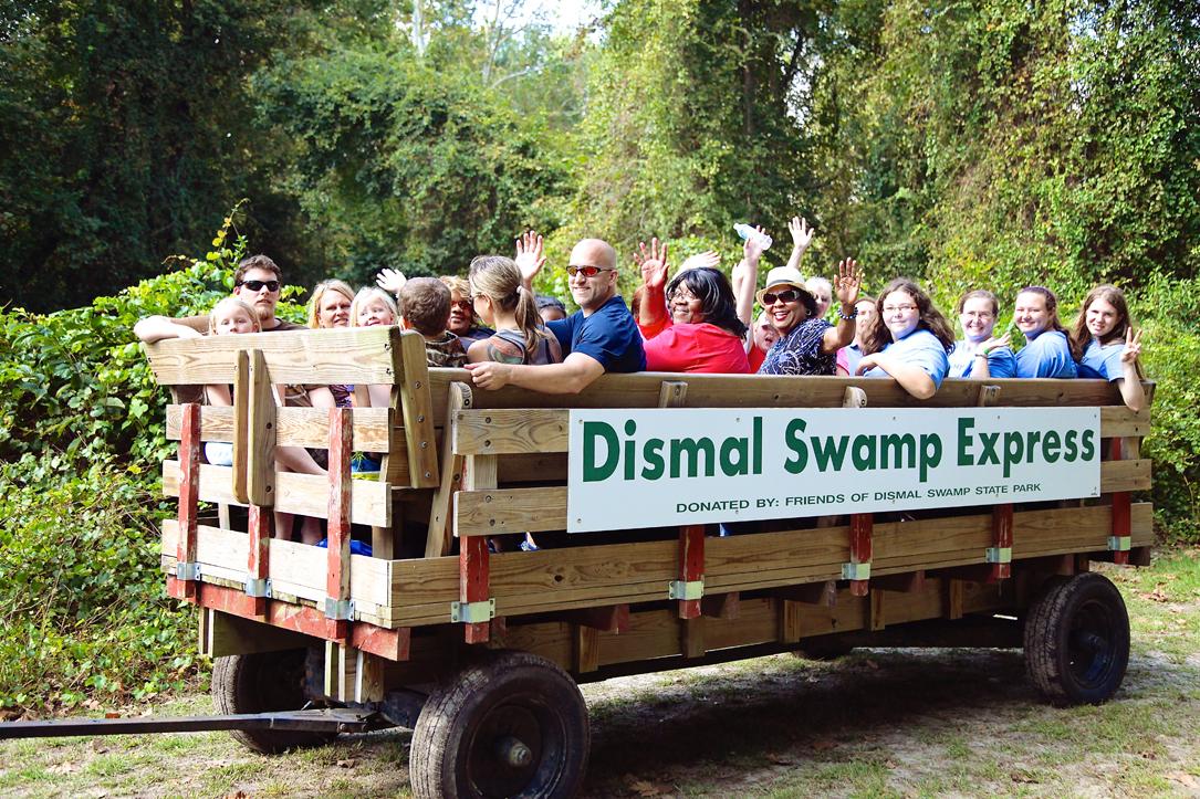 Dismal Day Wagon Rides