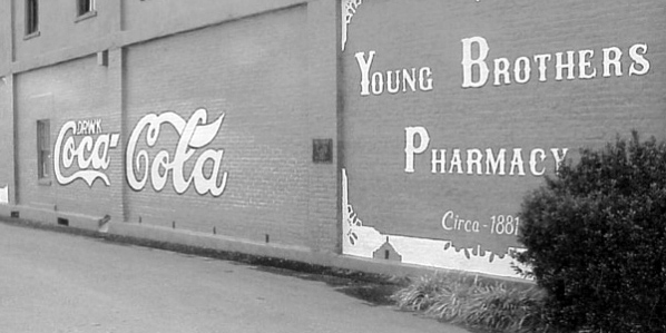 First Coca-Cola Sign