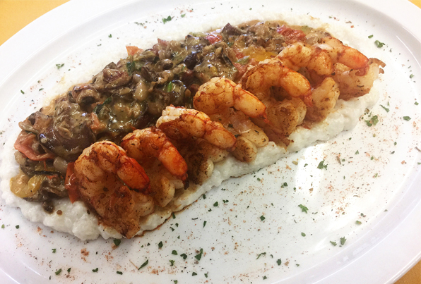Hoppin' Johnz Shrimp and Grits