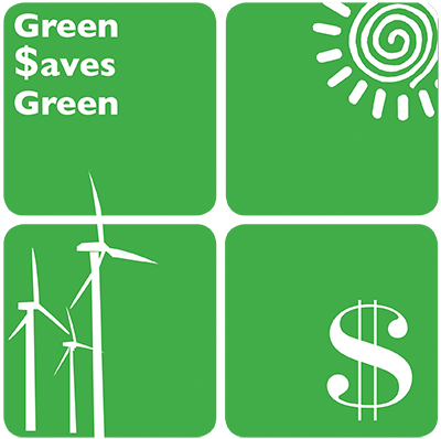 Green Saves Green Logo