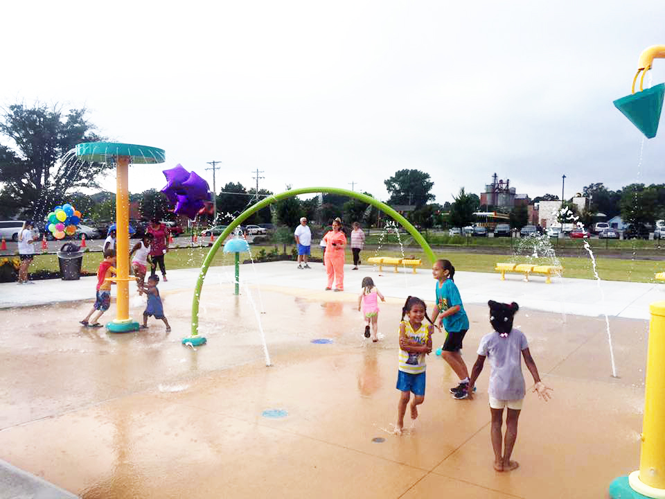Splash Pad at Enfield Park