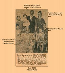 Wanda McLean Family