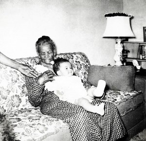Wanda McLean with Grandmother