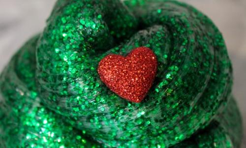 Christmas-Port Disc-Grinch Slime