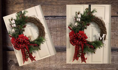 Christmas - Lazzy Frog Wreath