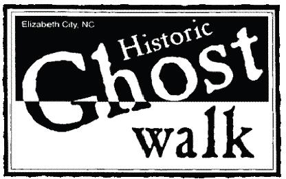Elizabeth City Historic Ghost Walk logo