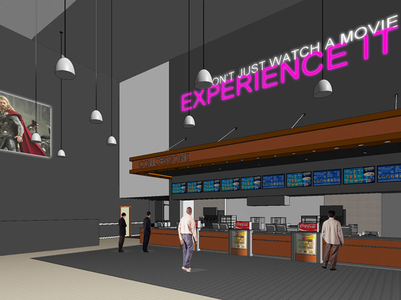 RCE Theater artist rendering