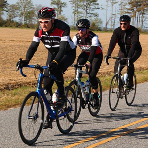 TarWheel Cycling Event in Elizabeth City, North Carolina