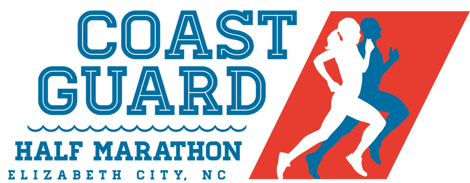 Coast guard half marathon logo