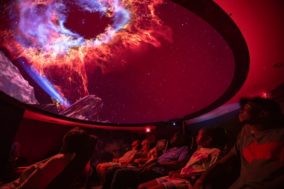 Elizabeth City State University Khan Planetarium