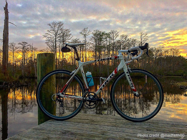 Instagrammer @madfaith00 has great shots of his rides along the river!