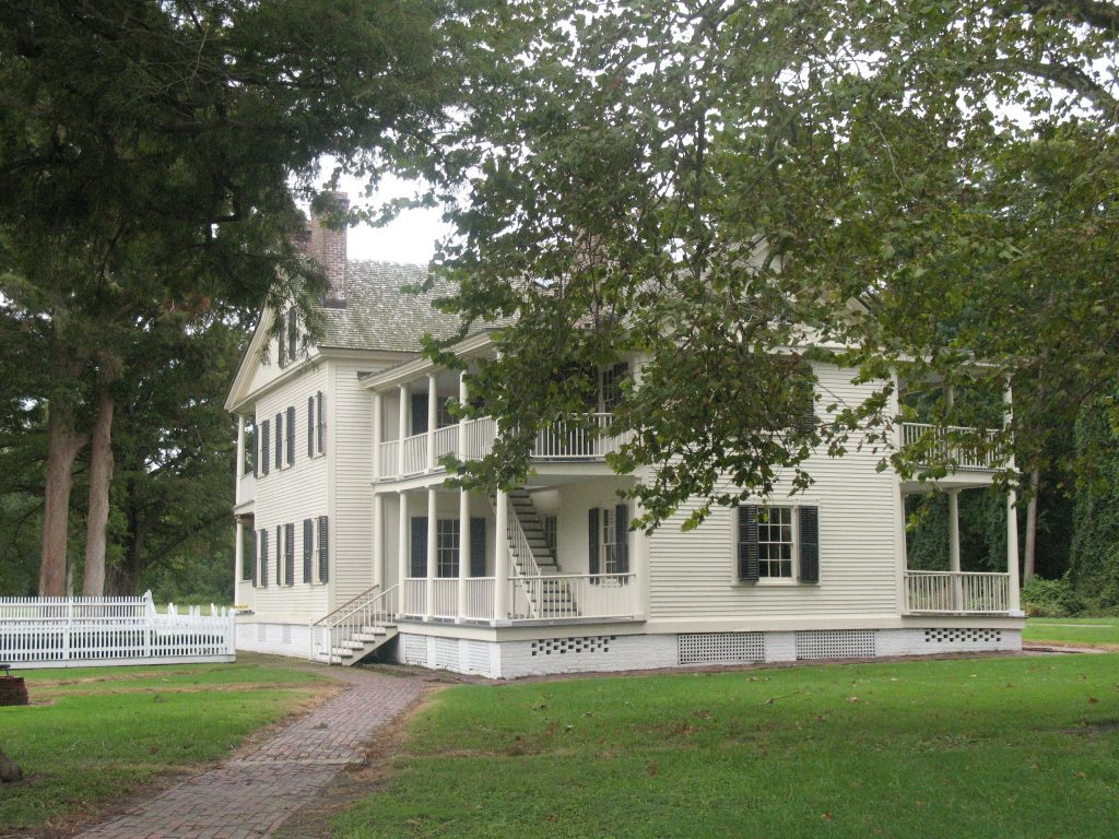 Historic plantation, Somerset Place
