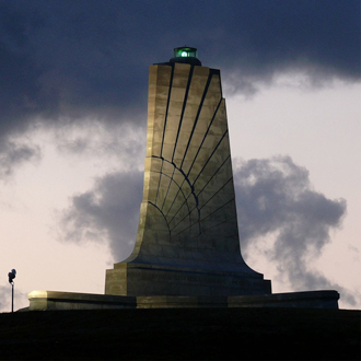 Visit Wright Brothers National Memorial.