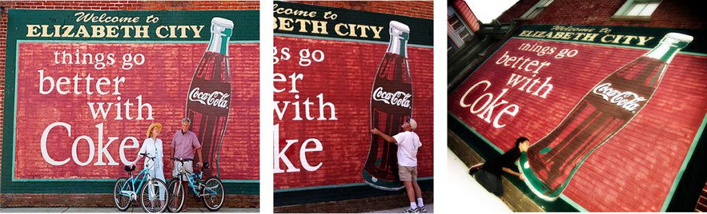 Coke Mural Fun in Elizabeth City 3